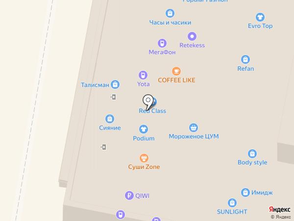 Verona на карте Нижнего Новгорода