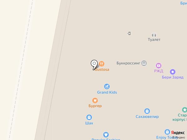 Полцены на карте Нижнего Новгорода