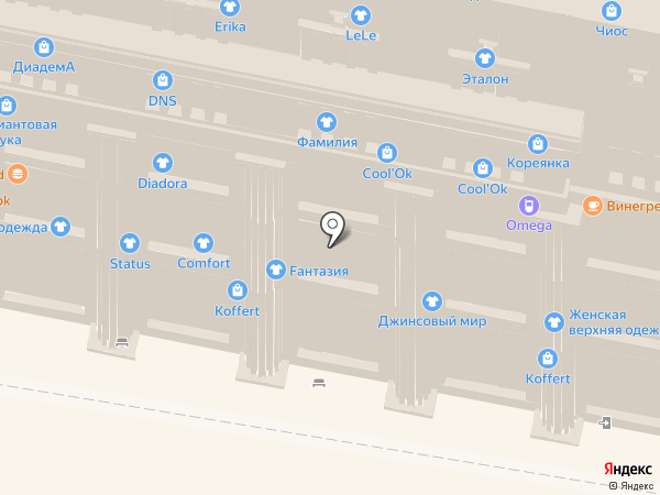 Mich на карте Нижнего Новгорода