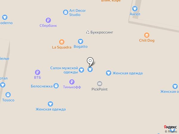 Князь на карте Нижнего Новгорода