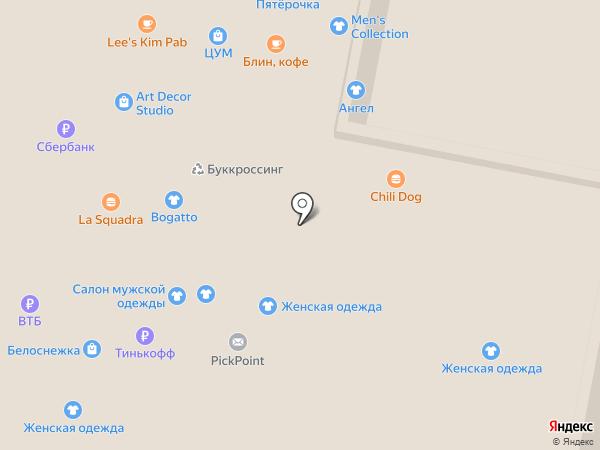 Shock на карте Нижнего Новгорода