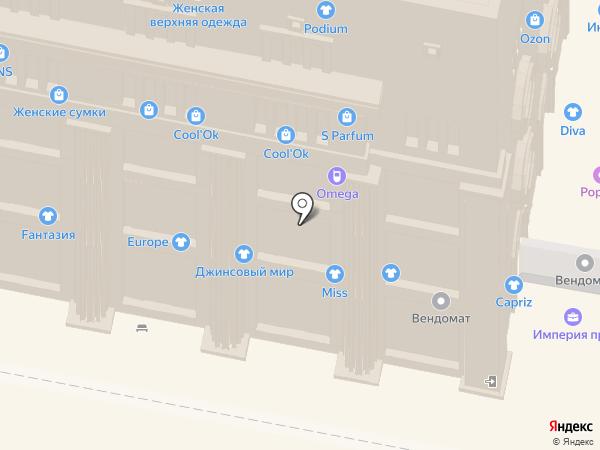 Danna на карте Нижнего Новгорода