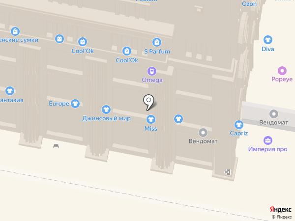 Koffert на карте Нижнего Новгорода