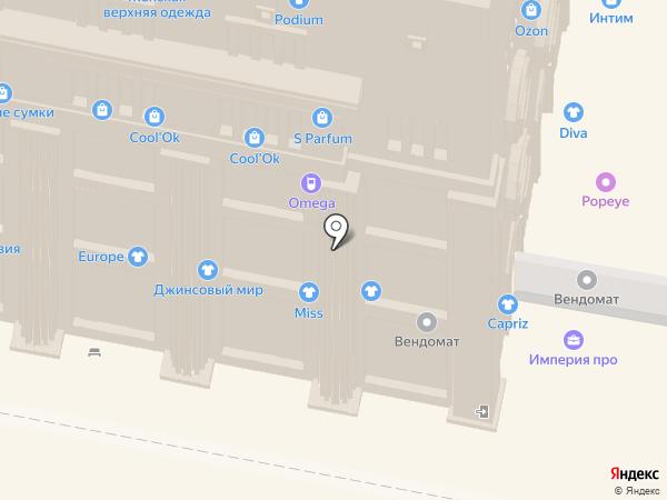 Джинсовый мир на карте Нижнего Новгорода