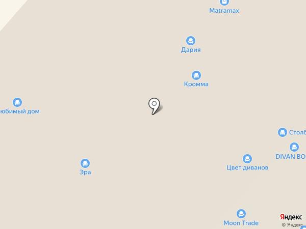 МебельКомплект на карте Нижнего Новгорода