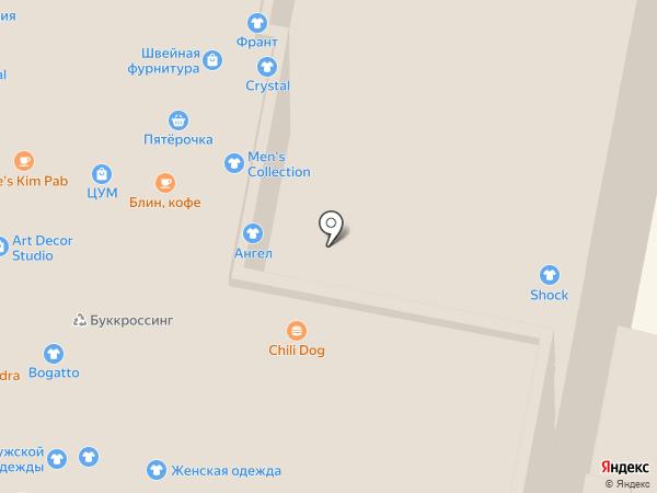 Модный магазин на карте Нижнего Новгорода
