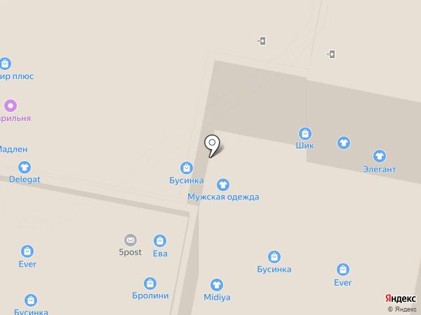 Шкаффчик на карте Нижнего Новгорода