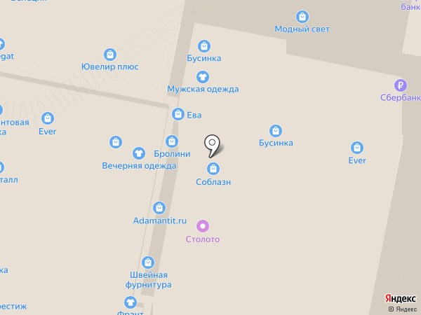 Соблазн на карте Нижнего Новгорода
