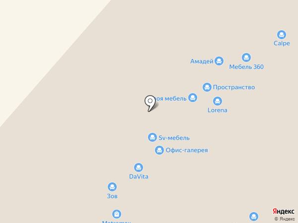 Идея НН на карте Нижнего Новгорода