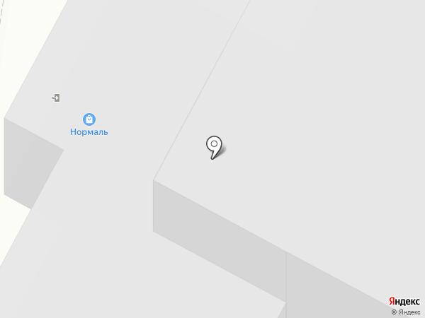 Прачечная на карте Нижнего Новгорода