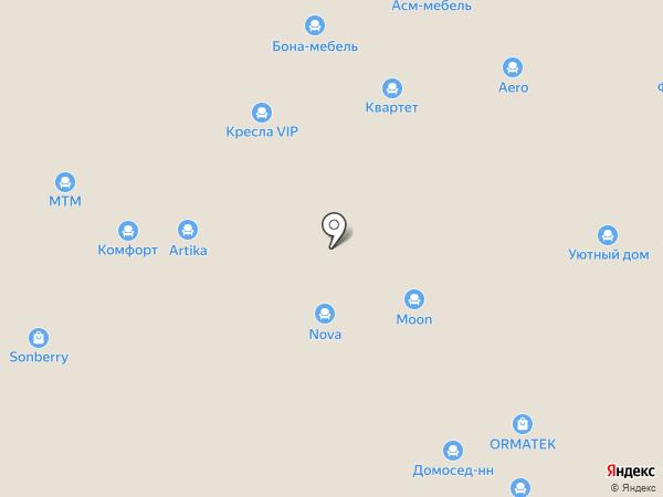 Consul на карте Нижнего Новгорода