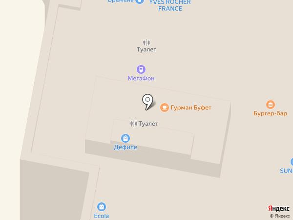 LADY SHARM на карте Нижнего Новгорода