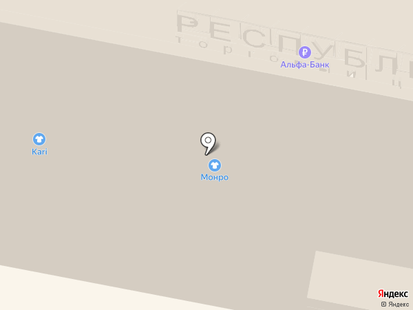 Nike на карте Нижнего Новгорода