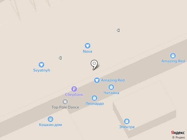 Сlasna на карте Нижнего Новгорода