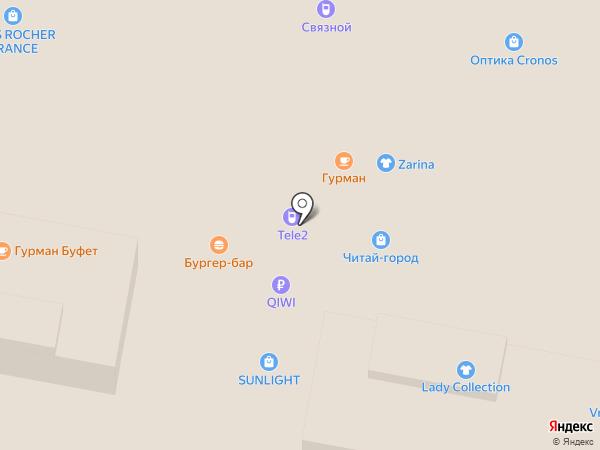 Юнона на карте Нижнего Новгорода