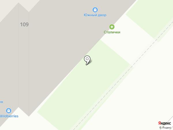 Бинбанк, ПАО на карте Нижнего Новгорода