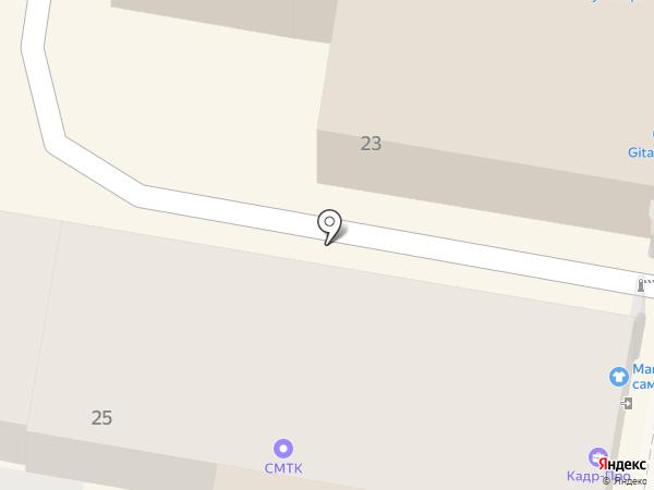 Дымок на карте Нижнего Новгорода