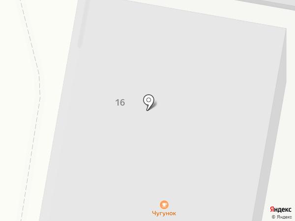 Старт Ком на карте Нижнего Новгорода