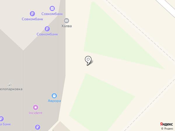 Солянка на карте Нижнего Новгорода