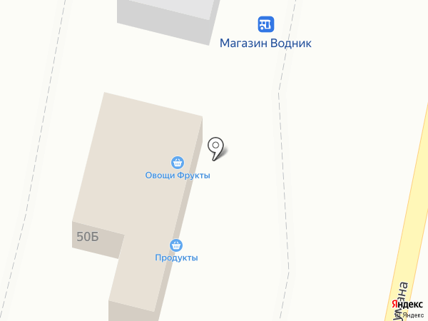Продуктовый магазин на карте Нижнего Новгорода