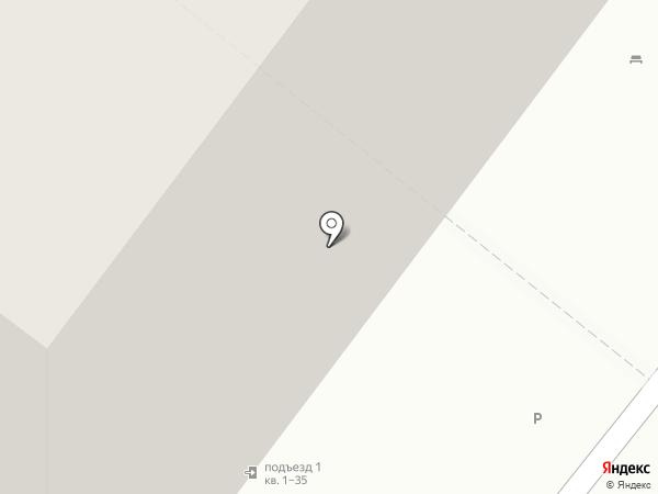 Тихий дворик на карте Нижнего Новгорода