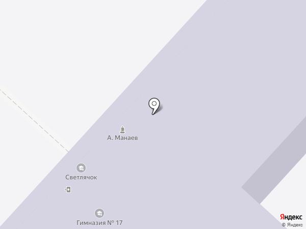 Светлячок на карте Нижнего Новгорода