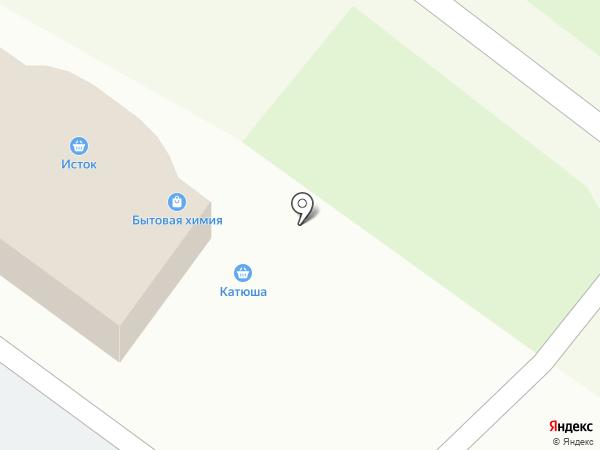 Магазин бытовой химии на карте Нижнего Новгорода