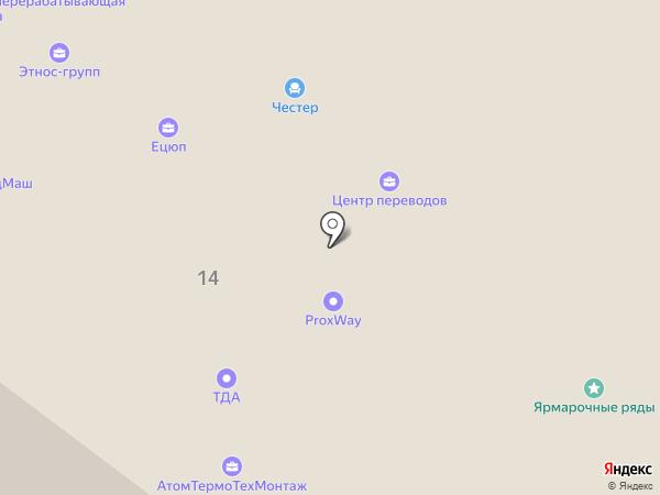 Энергосетьпроект-НН на карте Нижнего Новгорода