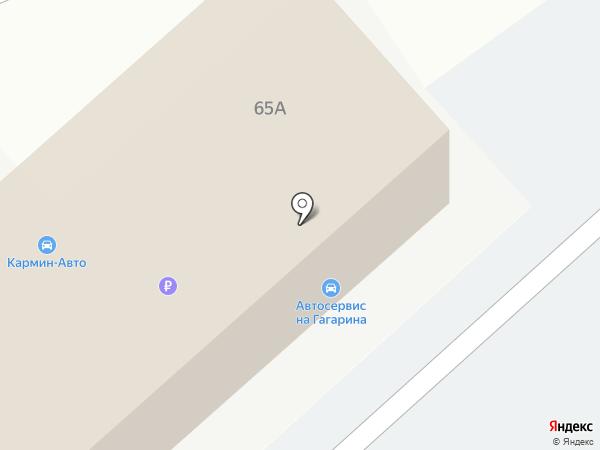 Орион-Сервис на карте Нижнего Новгорода