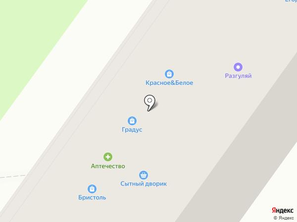 Красное & Белое на карте Нижнего Новгорода