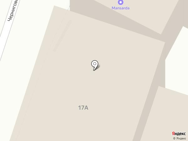 АМК-ЮГ на карте Нижнего Новгорода