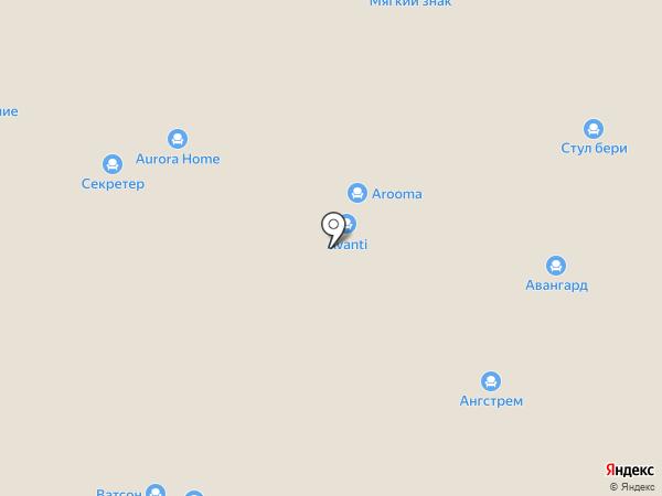 Диваны eXpress на карте Нижнего Новгорода