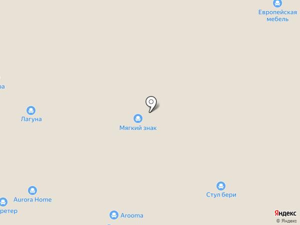 Секретер на карте Нижнего Новгорода