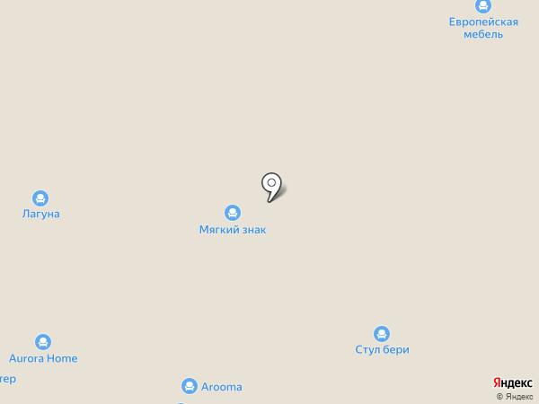 Салон кухонной мебели на карте Нижнего Новгорода
