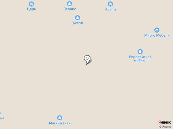 Кубика на карте Нижнего Новгорода