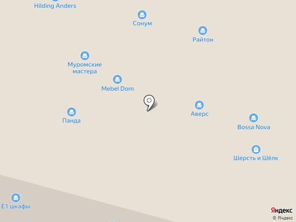 Е1 на карте Нижнего Новгорода