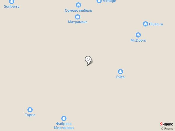 Lineaflex на карте Нижнего Новгорода