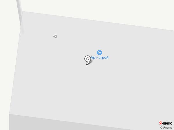 Арт-Строй на карте Нижнего Новгорода