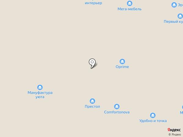 Aero на карте Нижнего Новгорода