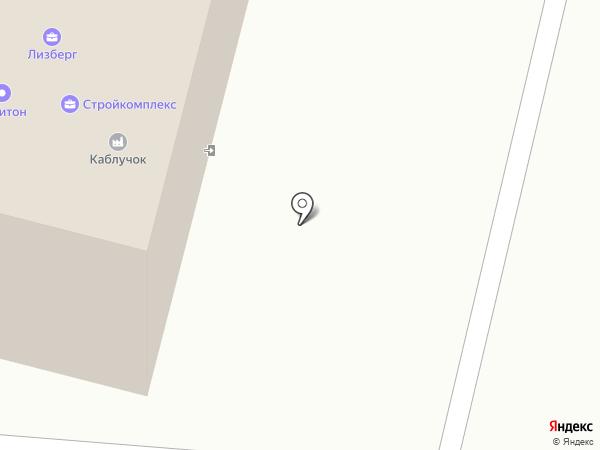 Крепкий Дом на карте Нижнего Новгорода
