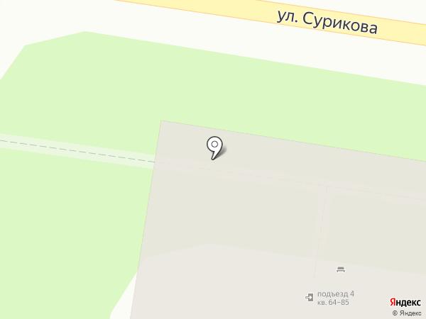 Фруктовая лавка на карте Нижнего Новгорода
