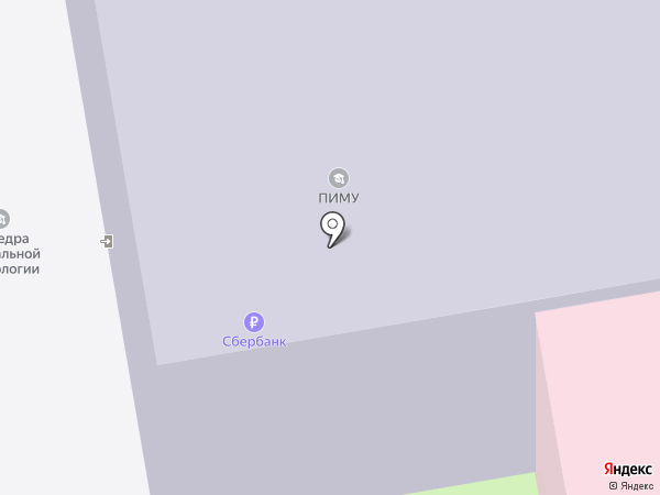 Нижегородская государственная медицинская академия на карте Нижнего Новгорода