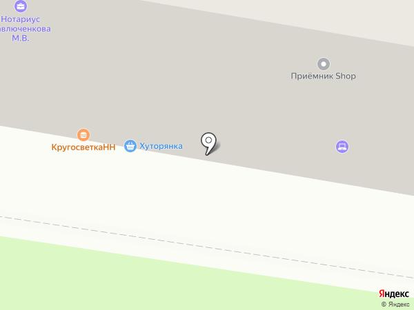 Lucky Day на карте Нижнего Новгорода
