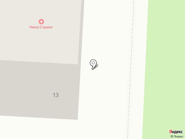 Отосфера на карте Нижнего Новгорода