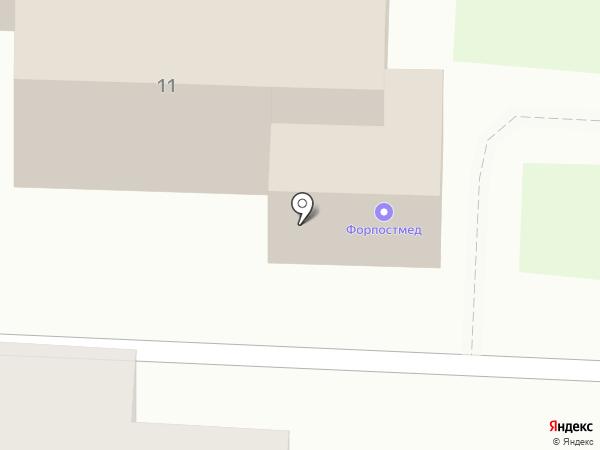 ИНСПЕРСАЙТ на карте Нижнего Новгорода