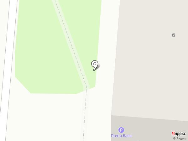 Почтовое отделение №460 на карте Бора