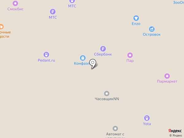Gentlz на карте Нижнего Новгорода
