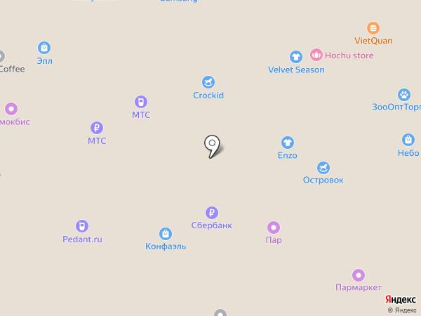 Московский ювелирный завод на карте Нижнего Новгорода