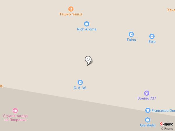 Магазин сувениров и упаковки на карте Нижнего Новгорода