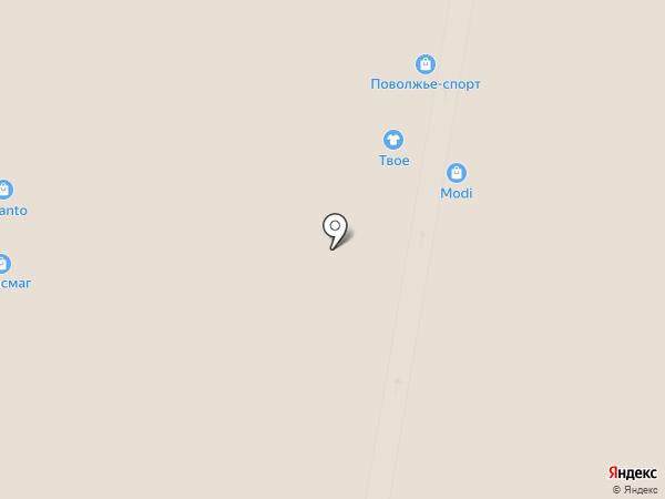 Твое на карте Нижнего Новгорода